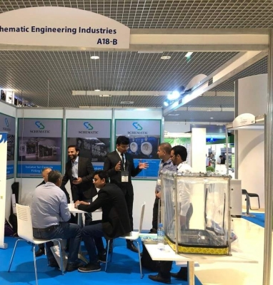 Schematic engineering exhibition