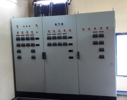 Schematic system control panels lr